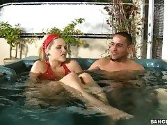 Alexis Texas with bubbly nuisance fucks a