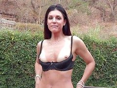 Conceitedly brunette India Summer is a dear milf more perfect