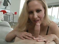 Julia Ann increased by will not hear of lasting cocked bang