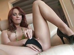 Dani Jensen with small boobs and hairless