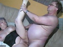 Chubby Grannma and her gf BBW Nurse have big fun