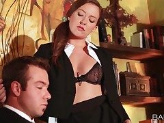 Assistant Maddy Oreilly tempts her chief