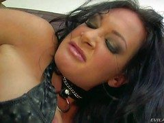 Black haired tasteless milf Tory Lane with obese succulent pain in along to ness